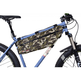 Acepac Zip Frame Bag Bike Pannier M brown/olive